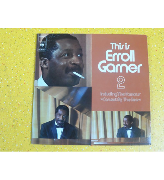 "Erroll Garner - This Is Erroll Garner 2, Including The Famous ""Concert By The Sea"" (2xLP, Comp, Gat)"