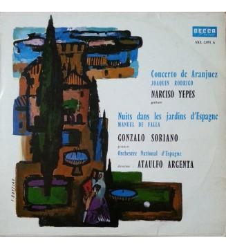 Joaquin Rodrigo*, Narciso Yepes / Manuel De Falla, Gonzalo Soriano, Orchestre National D'Espagne*, Ataulfo Argenta* - Concerto