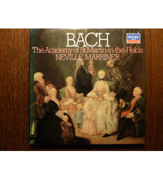 Bach* - The Academy Of St. Martin-in-the-Fields, Neville Marriner* - Bach - Selected Works (3xLP, Comp + Box) mesvinyles.fr