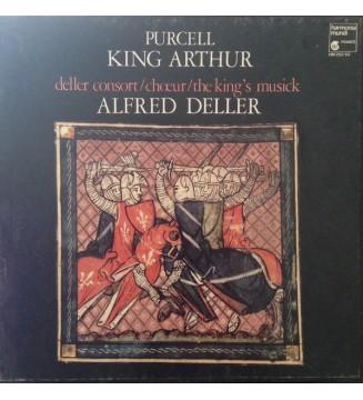 Purcell* - Deller Consort / Chœur* / The King's Musick, Alfred Deller - King Arthur   (2xLP + Box) mesvinyles.fr