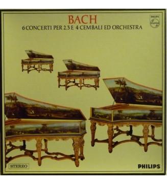 Bach* - 6 Concerti Per 2,3 E 4 Cembali Ed Orchestra (2xLP + Box) mesvinyles.fr
