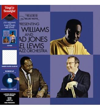 Joe Williams And Thad Jones • Mel Lewis*, The Jazz Orchestra - Joe Williams And Thad Jones, Mel Lewis, The Jazz Orchestra (LP,