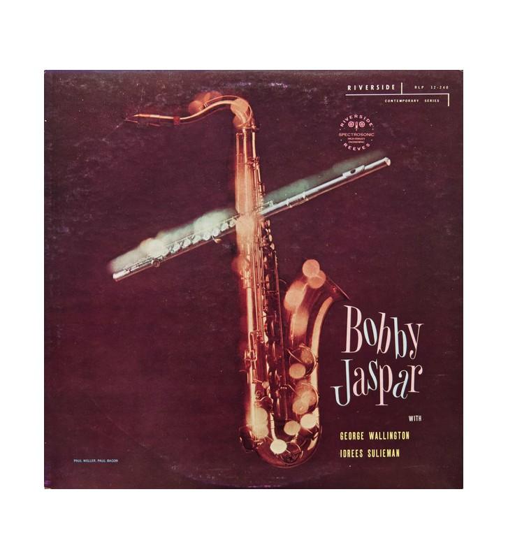Bobby Jaspar - Tenor And Flute (LP, Album, Mono, Promo, RE) mesvinyles.fr