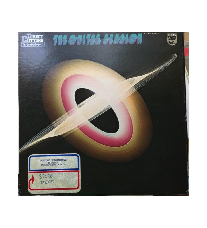 Jay Berliner, Gene Bertoncini, Toots Thielemans, Richard Resnicoff - The Guitar Session (LP) mesvinyles.fr