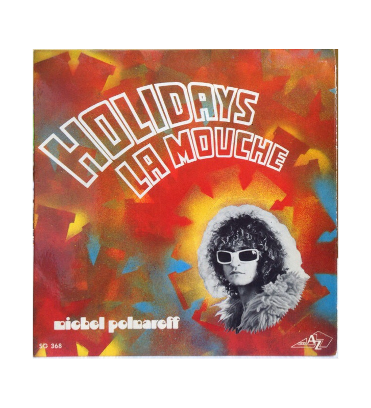 "Michel Polnareff - Holidays / La Mouche (7"", Single, RE, Blu) mesvinyles.fr"