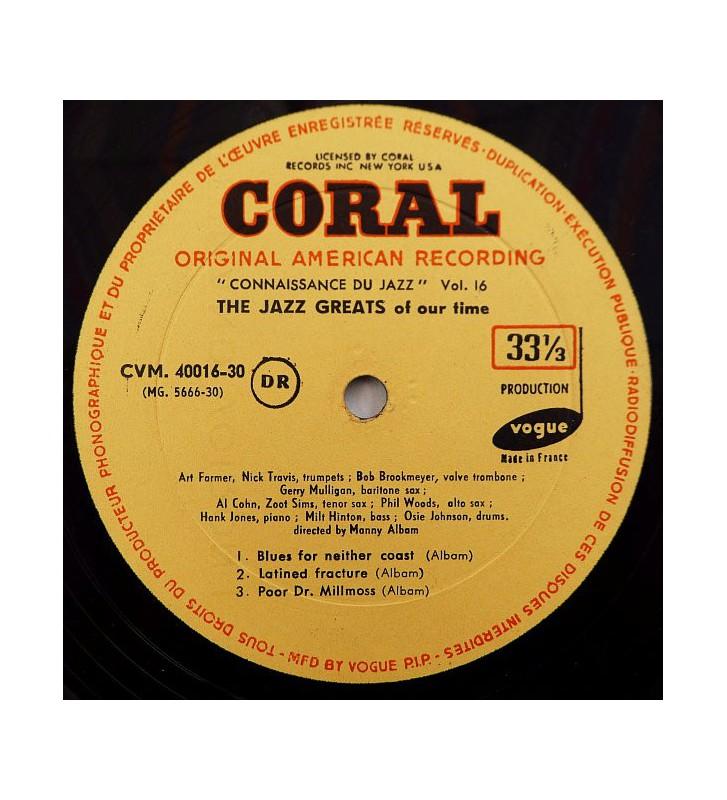 Manny Albam - The Jazz Greats Of Our Time (LP, Album, Mono) mesvinyles.fr