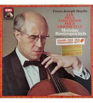Franz Joseph Haydn*, Mstislav Rostropovitch*, Academy Of St. Martin-in-the-Fields* - Les Deux Concertos Pour Violoncelle (LP, G