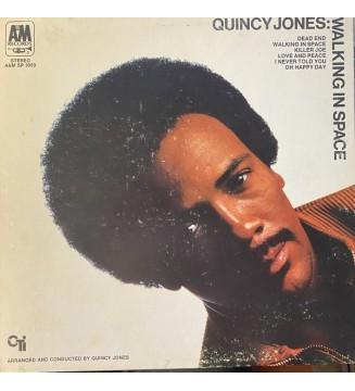 Quincy Jones - Walking In Space (LP, Album, Gat) mesvinyles.fr