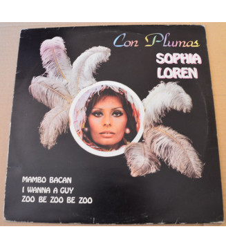 Sophia Loren - Con Plumas (LP, Comp) mesvinyles.fr