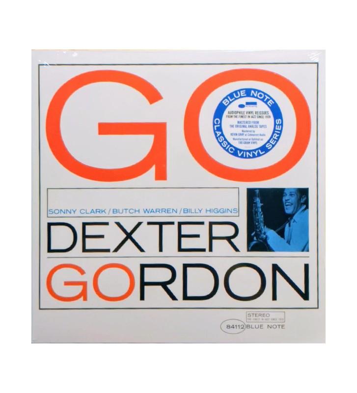 Dexter Gordon - Go! (LP, Album, RE, 180) mesvinyles.fr