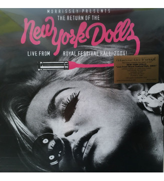 New York Dolls - Live From Royal Festival Hall, 2004 (LP, Album, Etch, Num, Pin + LP, Album, Sin) mesvinyles.fr