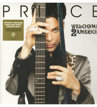 Prince - Welcome 2 America (Album + LP + LP, S/Sided, Etch) mesvinyles.fr