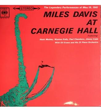 Miles Davis - Miles Davis At Carnegie Hall (LP, Album) mesvinyles.fr