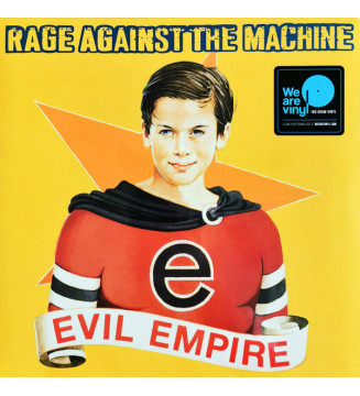 Rage Against The Machine - Evil Empire (LP, Album, RE, RM, 180) new mesvinyles.fr
