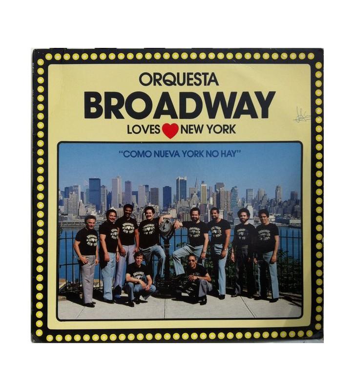 Orquesta Broadway - Loves New York (LP, Album) mesvinyles.fr