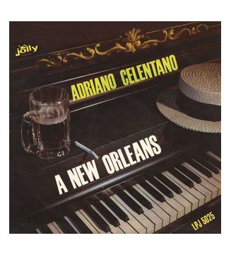 Adriano Celentano - A New Orleans (LP, Album, RE) mesvinyles.fr