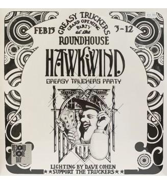 Hawkwind - Greasy Truckers Party (2xLP, Album) mesvinyles.fr