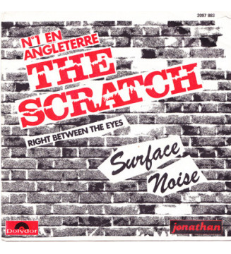 """Surface Noise - The Scratch / Right Between The Eyes (7"""", Promo) mesvinyles.fr"""