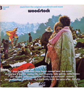 Various - Woodstock - Music From The Original Soundtrack And More (3xLP, Album, RE, Tri) mesvinyles.fr