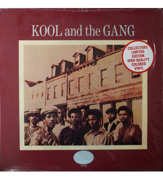 Kool & The Gang - Kool And The Gang (LP, Album, RE, Red) mesvinyles.fr