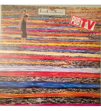 Johnny Clegg & Savuka - Cruel, Crazy, Beautiful World (LP, Album) mesvinyles.fr