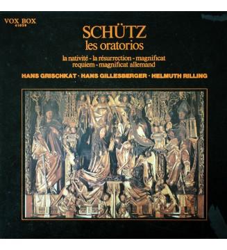 Heinrich Schütz - Les Oratorios (La Nativité, La Résurrection, Magnificat, Requiem, Magnificat Allemand) (3xLP) mesvinyles.fr