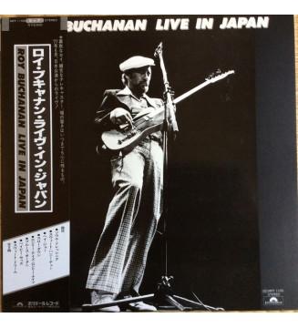 Roy Buchanan - Live In Japan (LP, Album) mesvinyles.fr