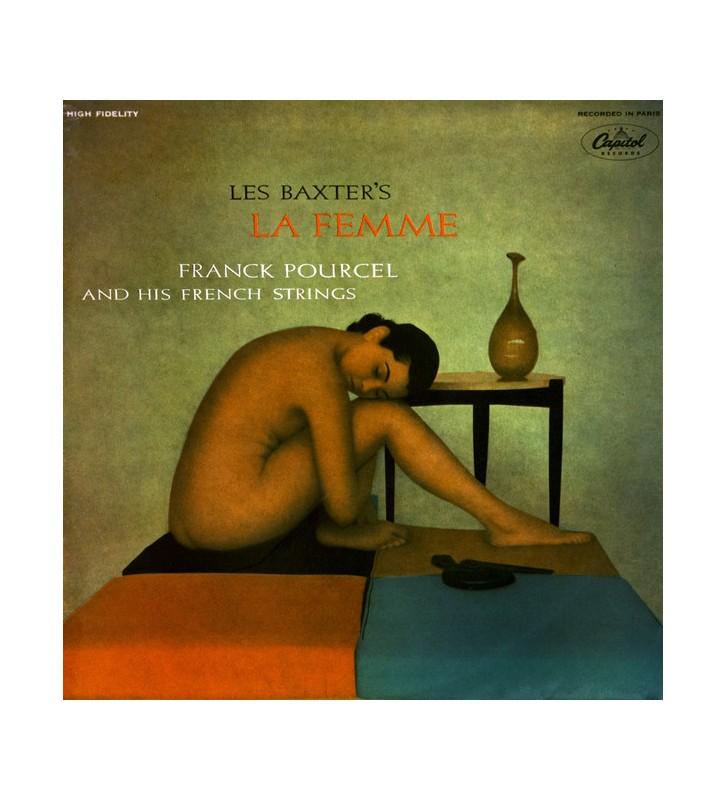 Les Baxter, Franck Pourcel And His French Strings - Les Baxter's La Femme (LP, Album, Mono, RE) mesvinyles.fr