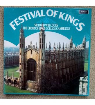 Sir David Willcocks*, The Choir Of King's College, Cambridge* - Festival Of Kings (4xLP) mesvinyles.fr