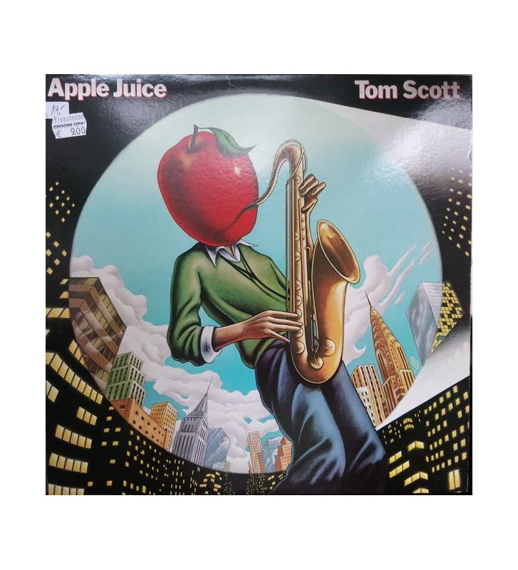 Tom Scott - Apple Juice (LP, Album, Ter) mesvinyles.fr