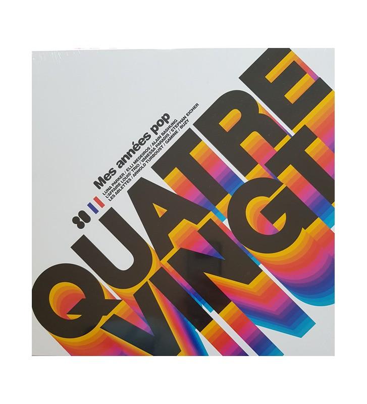 Various - Quatre Vingt - Mes Années Pop (LP, Comp) mesvinyles.fr
