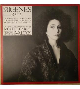 Julia Migenes, Orchestre Philharmonique De Monte-Carlo, Maximiano Valdés - Julia Migenes Recital (LP) mesvinyles.fr