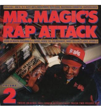 Various - Mr. Magic's Rap Attack Volume 2 (2xLP, Comp) mesvinyles.fr