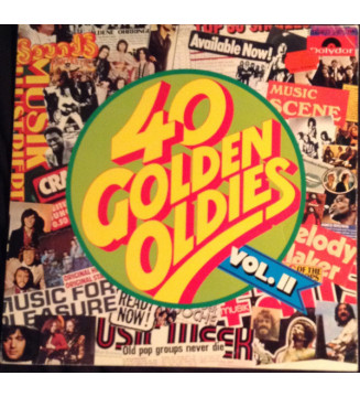 Various - 40 Golden Oldies Vol. II (2xLP, Comp, Gat) mesvinyles.fr
