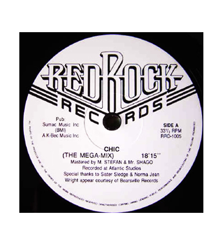 Plus d'images  Chic / Earth, Wind & Fire – The Mega-Mix / Mixed Masters mesvinyles.fr