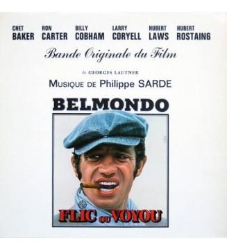 Philippe Sarde - Flic Ou Voyou (Bande Originale Du Film De Georges Lautner) (LP, Album) mesvinyles.fr