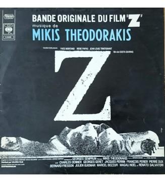 Mikis Theodorakis - Z (Bande Originale Du Film) (LP, Album, RE) mesvinyles.fr