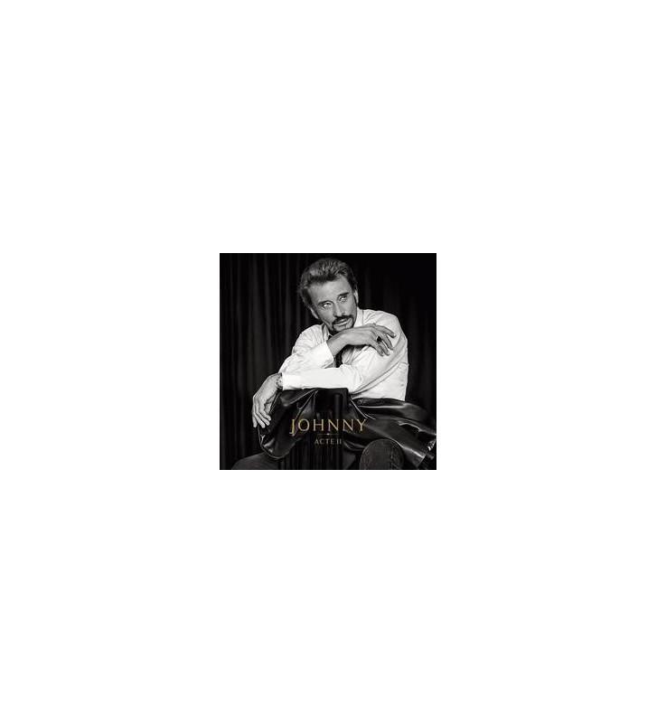 JOHNNY ACTE II - version vinyle noir vinyle mesvinyles.fr