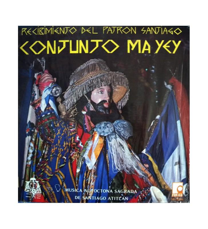 Conjunto Ma Yey - Recibimiento Del Patron Santiago (LP) mesvinyles.fr