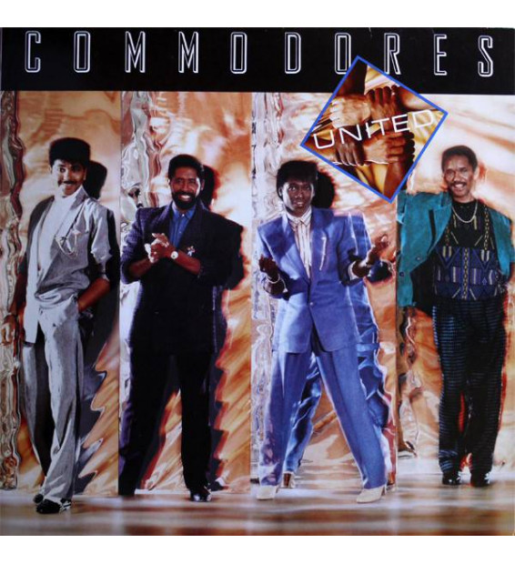 Commodores - United (LP, Album) mesvinyles.fr