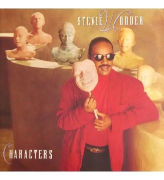 Stevie Wonder - Characters (LP, Album, Gat) mesvinyles.fr