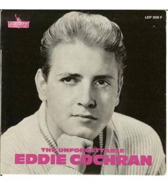 """Eddie Cochran - The Unforgettable  (7"""", EP) mesvinyles.fr"""