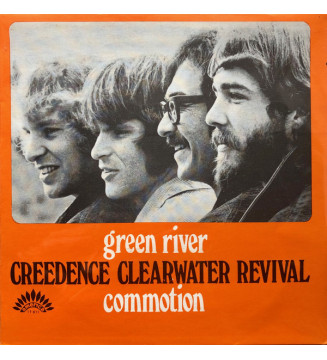 """Creedence Clearwater Revival - Green River / Commotion (7"""", Single) mesvinyles.fr"""