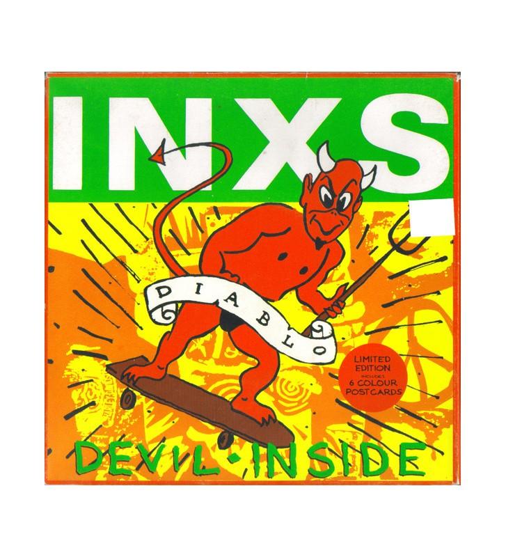 """INXS - Devil Inside (7"""", Single, Ltd) mesvinyles.fr"""