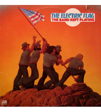 The Electric Flag - The Band Kept Playing (LP, Album, Mon) mesvinyles.fr