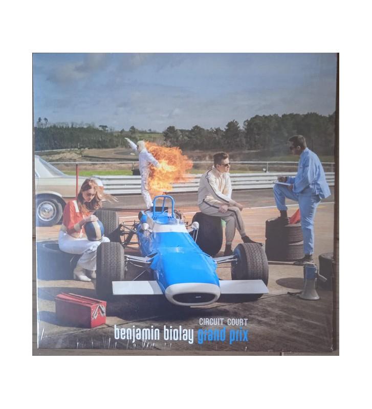 "Benjamin Biolay - Grand Prix Circuit Court (10"", EP) vinyle mesvinyles.fr"