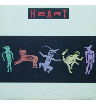 Heart - Bad Animals (LP, Album) mesvinyles.fr
