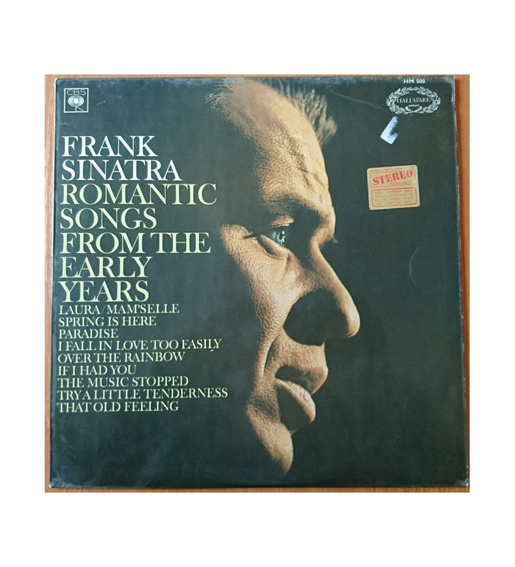 Frank Sinatra - Romantic Songs From The Early Years (LP, Comp) mesvinyles.fr