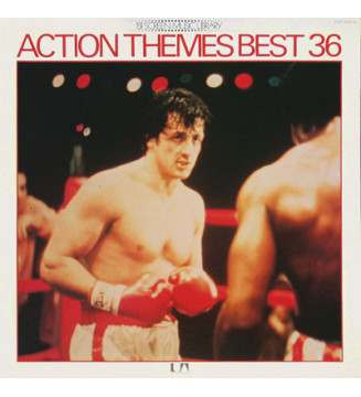 Various - Action Themes Best 36 (2xLP, Comp, Gat) mesvinyles.fr
