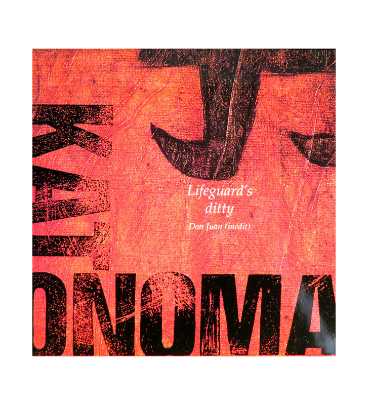 "Kat Onoma - Lifeguard's Ditty (7"", Single) mesvinyles.fr"